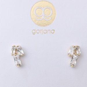 🆕NWT Gorjana Dainty 18k Gold P. Amara Studs